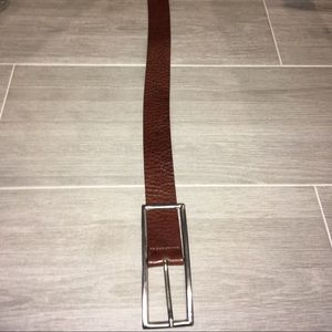 Aldo Italian brown leather belt